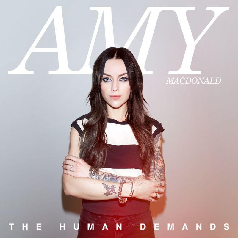 So sieht Amy Macdonalds Albumcover aus. Bild: Warner